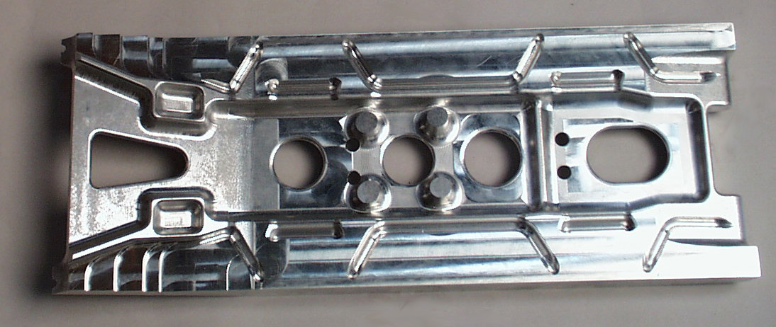 CNC Sample of forging prototype